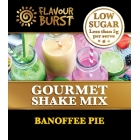 Low Sugar Gourmet Shake - Banofee Pie