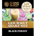 Low Sugar Gourmet Shake - Black Forest