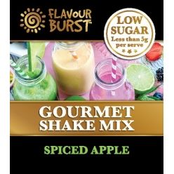 Low Sugar Gourmet Shake - SPICED APPLE