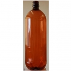 1.5 litre Amber PET Beer Bottles + Caps 15's