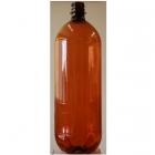 1.5 litre Amber PET Beer Bottles + Caps 15's