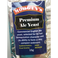 Morgans Premium Ale Yeast 15gm