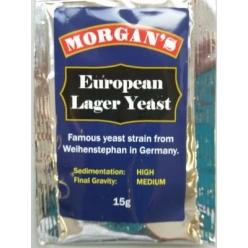 Morgans Premium European Lager Yeast 15gm