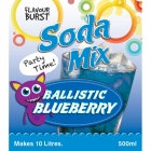 Balistic Blueberry Party Soda Mix
